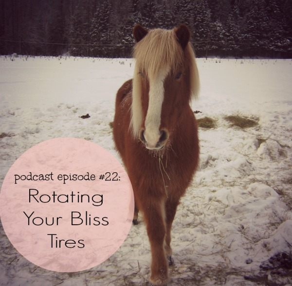 Podcast #22: Rotating Your Bliss Tires