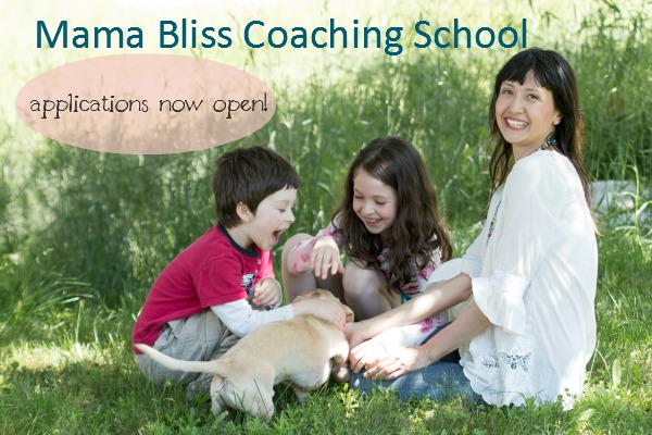 Mama Bliss Coaching School Fall 2014 Session applications open