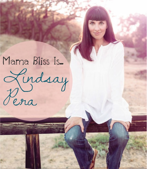 Mama Bliss Is Blog Tour - Lindsay Pera