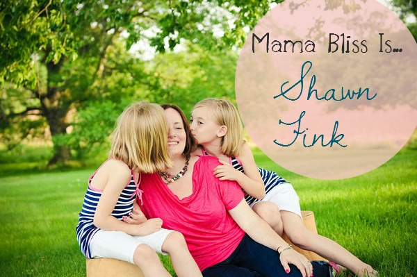 Mama Bliss Is Blog Tour - Shawn Fink