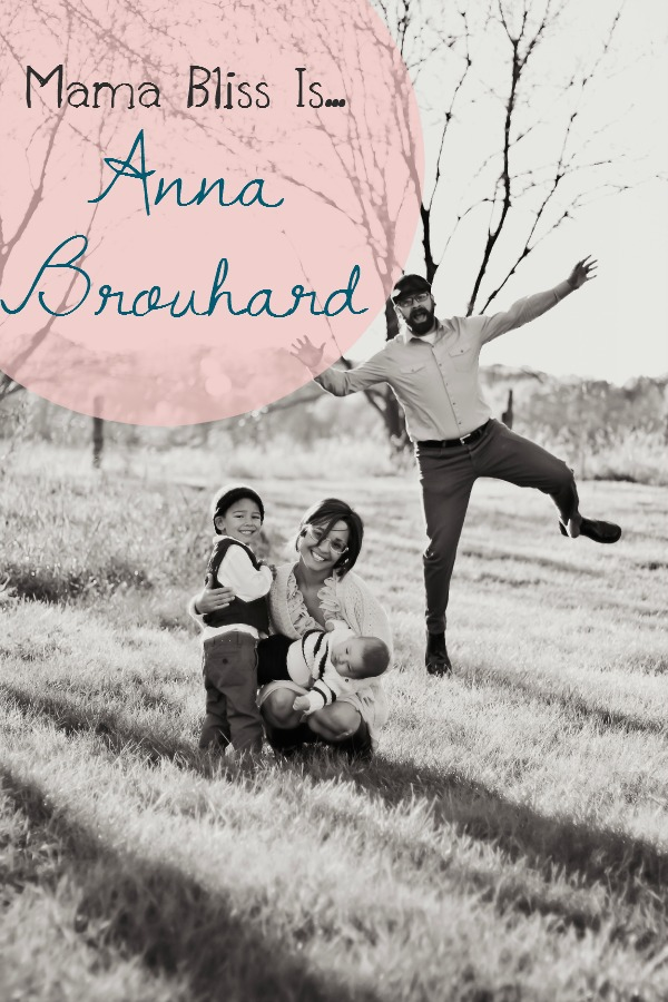 Mama Bliss Is Blog Tour - Anna Brouhard