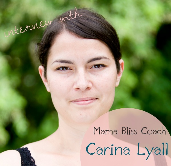 Podcast Episode #32: Mama Bliss Coach Carina Lyall