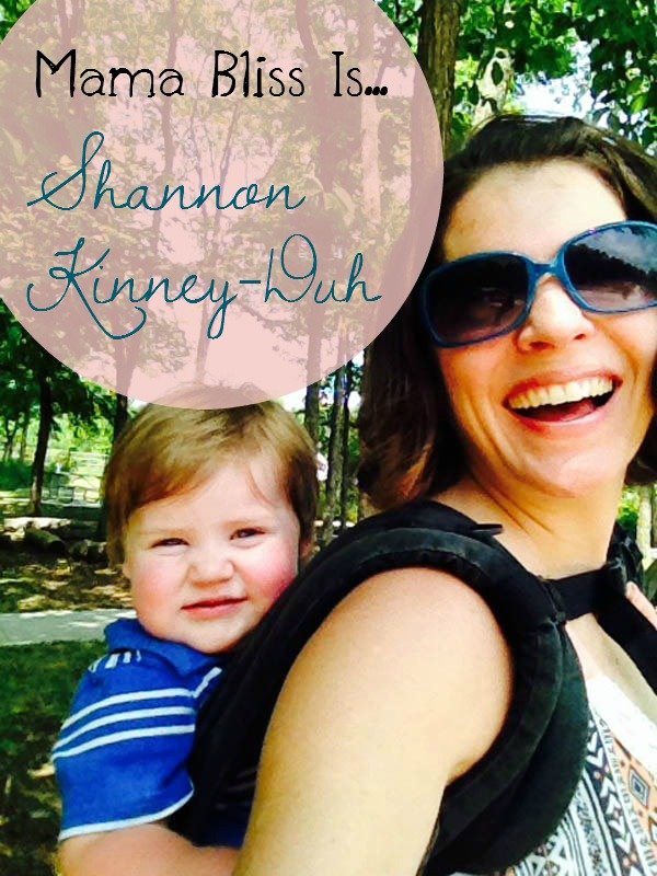mama bliss is blog tour - shannon kinney duh