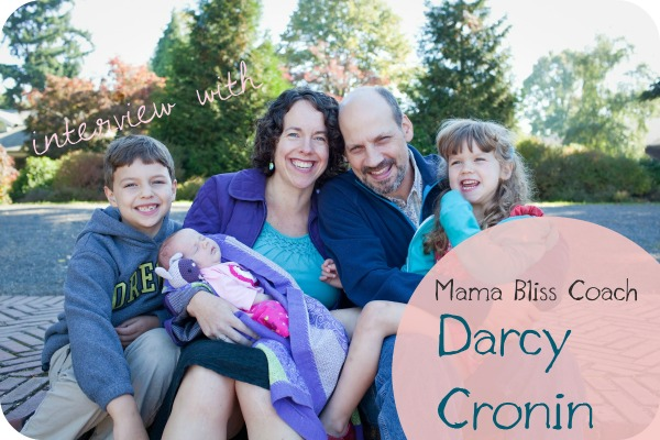 Podcast #35: Mama Bliss Coach Darcy Cronin