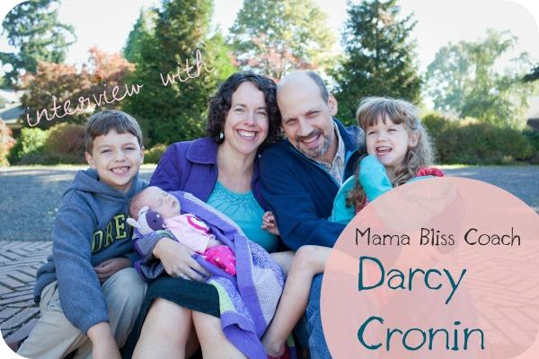 Podcast #35: Mama Bliss Coach Darcy Cronin