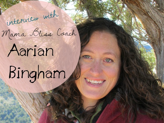 Podcast Episode #42 – Mama Bliss Coach Aarian Bingham