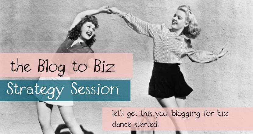 The Blog to Biz Strategy Session with Kathy Stowell