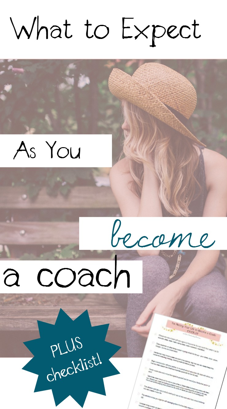 What to expect when you're becoming a coach (plus a checklist)