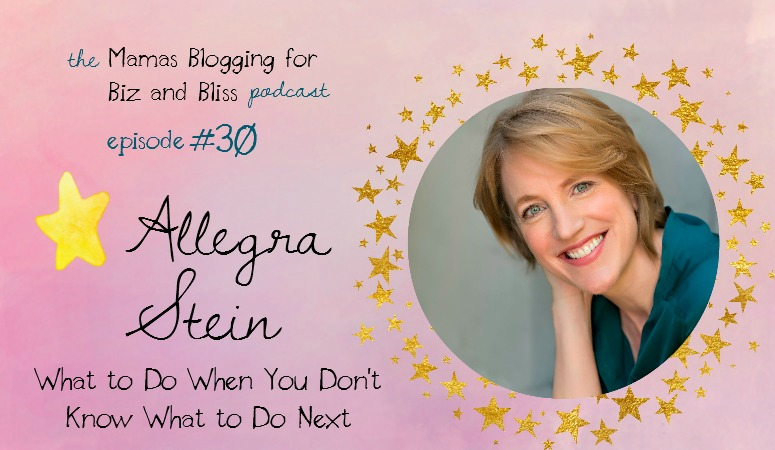 What to Do When You Don't Know What to Do With Allegra Stein