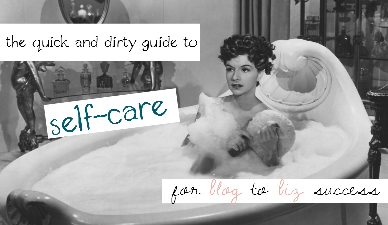 Self-Care Tips for The Busy Blogging Mom (plus free monthly mama bliss recharge!)