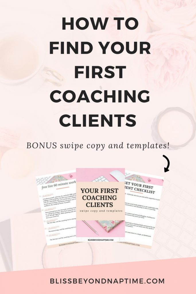 How to find your first coaching clients (FREE email sqipe copy and templates inside!)