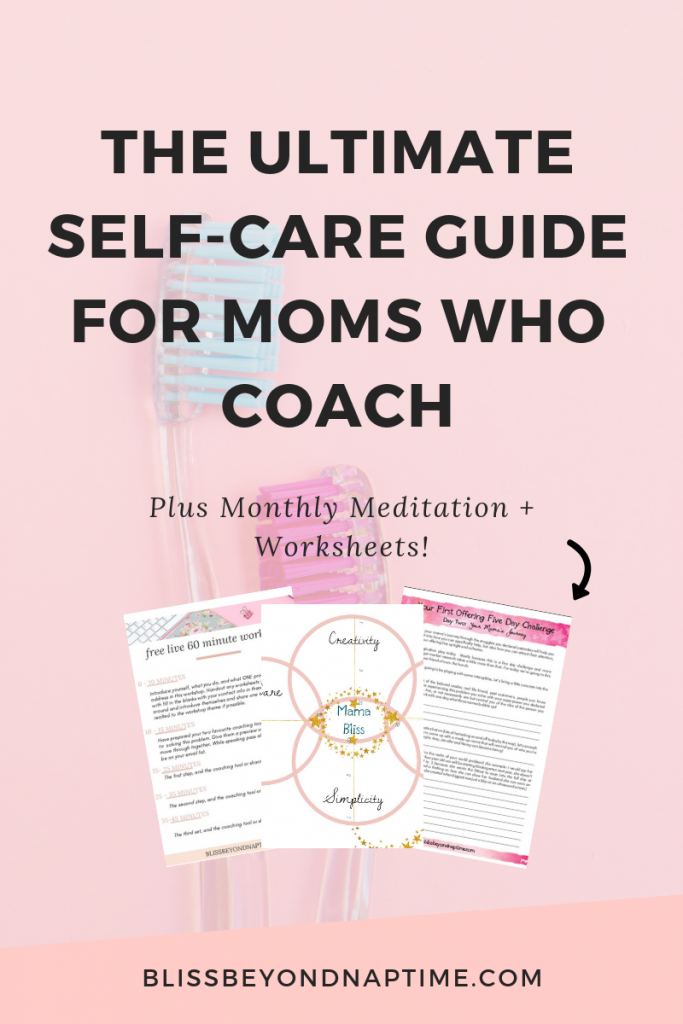 Ultimate Self-Care Guide for Coaching Moms