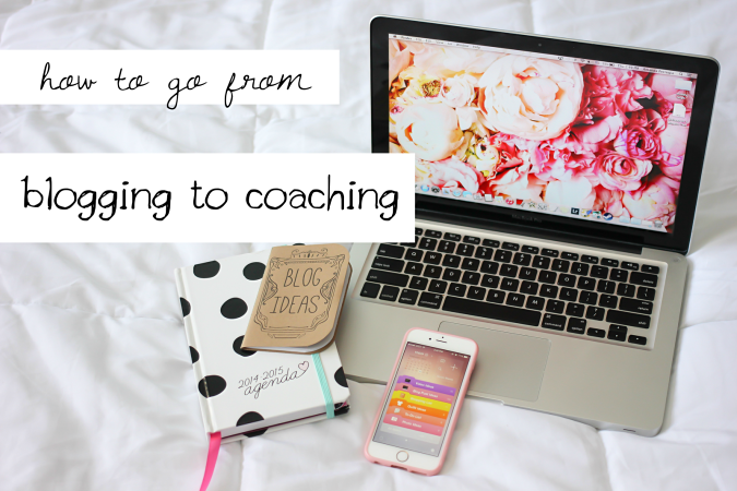 How to go from blogging to creative coaching