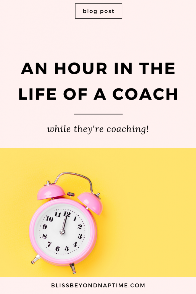 An Hour in the Life of a Coach