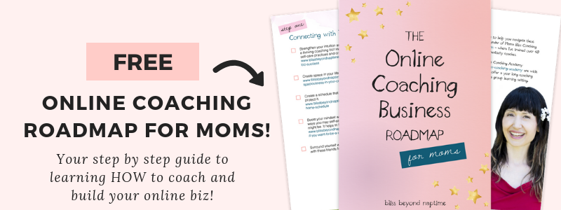 online coaching business road map for moms