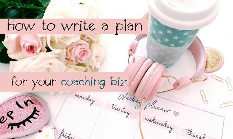 how to write a business plan for your coaching business