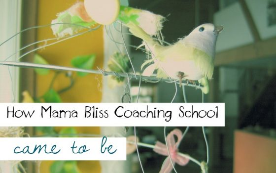 How Mama Bliss Coaching School Became to Be The One Coaching Training Program for Moms to Coach Other Moms