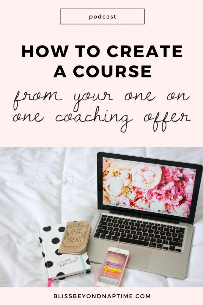 How to Create a Course From Your One on One Coaching