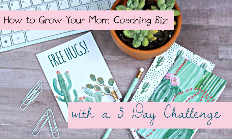 How to Grow Your Mom Coaching Biz with a Five Day Challenge