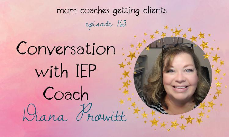 IEP Coach Diana Prowitt